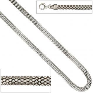 Himbeerkette Halskette 925 Sterling Silber 45 cm Kette Silberkette Karabiner