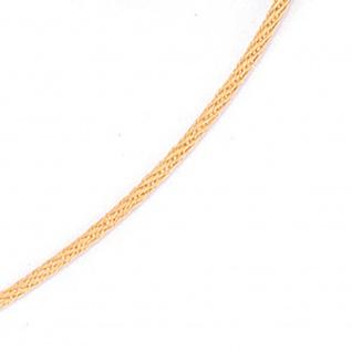 Halsreif 750 Gold Gelbgold 1, 1 mm 45 cm Halskette Kette Karabiner