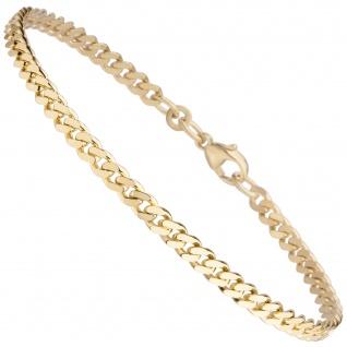 Panzerarmband 333 Gold Gelbgold 21 cm Armband Goldarmband