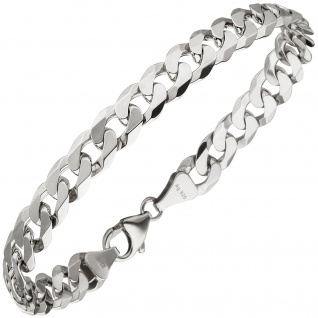 Panzerarmband 925 Sterling Silber 21 cm Armband Silberarmband
