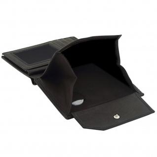 Friedrich Lederwaren Geldbörse Leder schwarz RFID Schutz - Vorschau 4