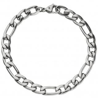Figaroarmband Edelstahl 21 cm Armband - Vorschau 2