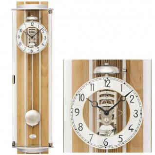 AMS 2715/18 Regulateur Regulator mit Pendel mechanisch Holz Buche mit Glas