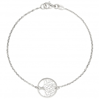 Armband Baum Lebensbaum Weltenbaum 925 Sterling Silber 19 cm