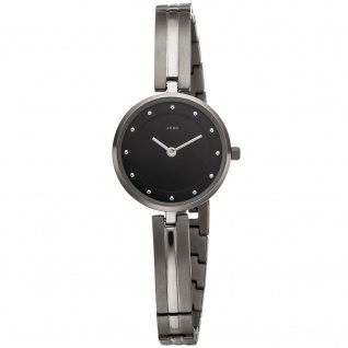 JOBO Damen Armbanduhr Quarz Analog Titan schmales Armband - Vorschau 1