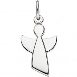 Anhänger Engel Schutzengel 925 Sterling Silber Silberanhänger