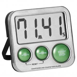 Atlanta 240/6 Kurzzeitmesser digital Metall mit Magnet Küchen Timer