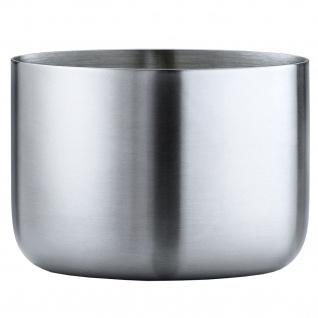 Blomus Snackschale Schale BASIC klein Edelstahl matt 220 ml Inhalt