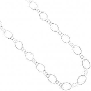 Halskette Kette 925 Sterling Silber 80 cm Silberkette Karabiner - Vorschau 3