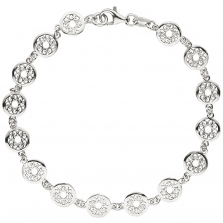 Armband 925 Sterling Silber 19 cm Silberarmband - Vorschau