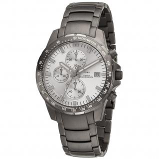 JOBO Herren Armbanduhr Quarz Chronograph Titan mit Datum