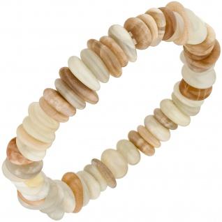 Armband Sonnenstein 19 cm Sonnensteinarmband Edelsteinarmband elastisch