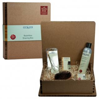 Golddachs Bartpflege Set in Geschenkbox Geschenkset Bartset