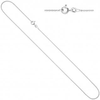 Ankerkette 925 Silber 1, 5 mm 40 cm Kette Halskette Silberkette Federring
