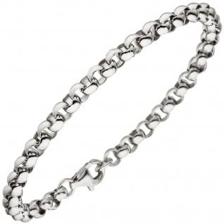 Erbsarmband 925 Sterling Silber 21 cm Armband Silberarmband