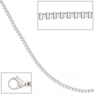 Venezianerkette Edelstahl 2 mm 50 cm Halskette Kette Karabiner