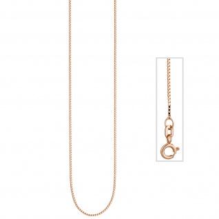 Venezianerkette 925 Silber rotgold vergoldet 0, 8 mm 45 cm Kette Halskette - Vorschau 3