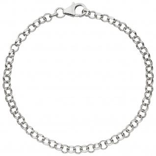 Armband für Charms 925 Sterling Silber 19 cm Erbsarmband