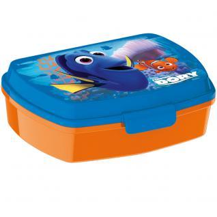 Findet Dorie Kinder Brotdose aus Kunststoff blau orange
