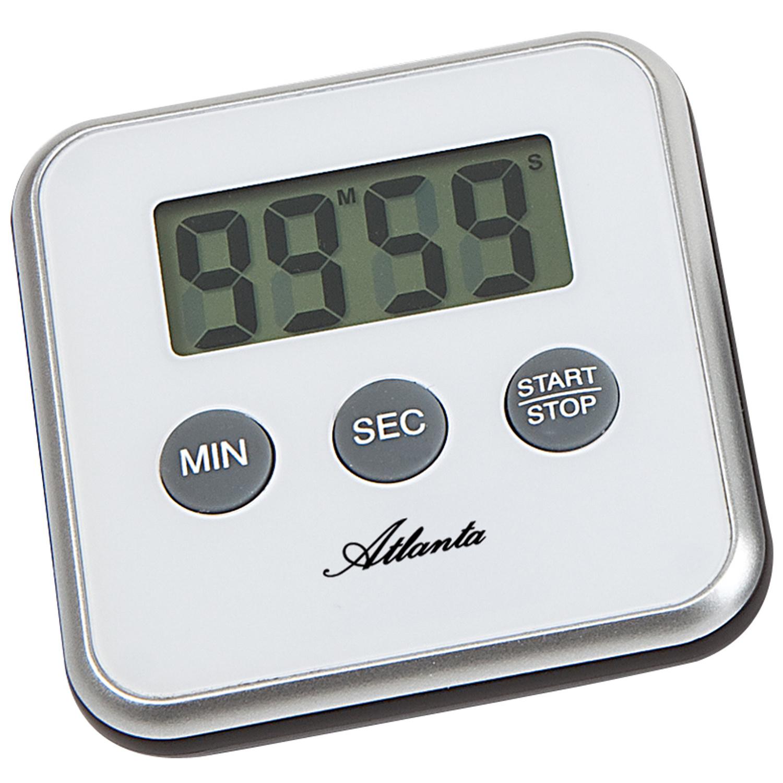 Atlanta 239//7 Kurzzeitmesser Atlanta digital schwarz mit Magnet Küchen Timer