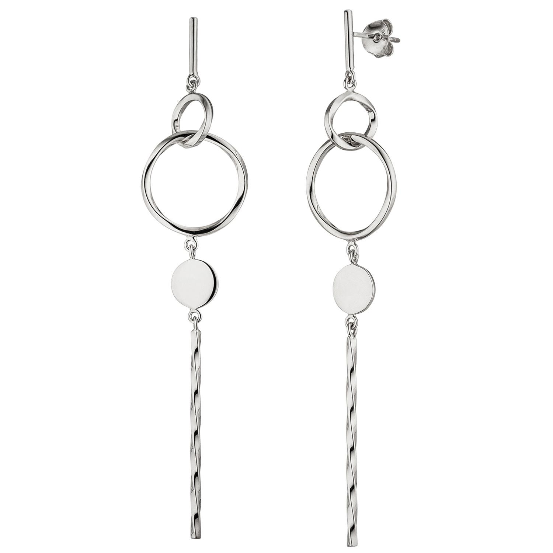 professionelles Design beliebte Marke schönes Design Ohrhänger lang 925 Sterling Silber Ohrringe Ohrstecker Silberohrringe