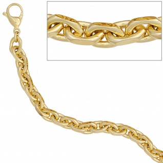 Ankerarmband 585 Gold Gelbgold 21 cm Armband Goldarmband Karabiner - Vorschau 3