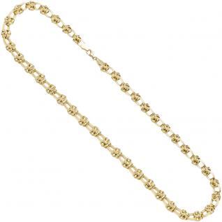 Halskette Kette 375 Gold Gelbgold 46 cm Goldkette Karabiner