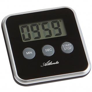 Atlanta 239/7 Kurzzeitmesser Atlanta digital schwarz mit Magnet Küchen Timer