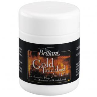 Brillant Goldtauchbad 200ml Reinigung und Pflege von Diamanten und Goldschmuck - Vorschau