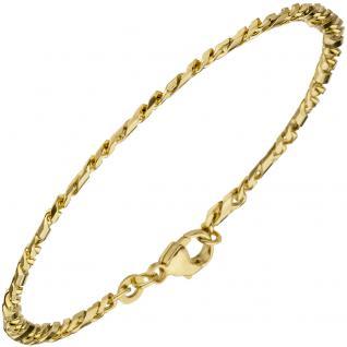 Armband 333 Gold Gelbgold 18, 5 cm Goldarmband