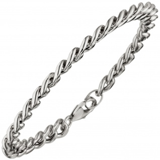 Panzerarmband Armband 925 Sterling Silber 21 cm Silberarmband Karabiner