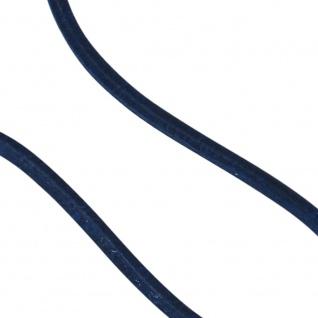 Lederschnur marineblau ca. 1 m lang Halskette Kette Leder