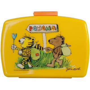 JANOSCH Kinder Brotdose mit Einsatz aus Kunststoff gelb