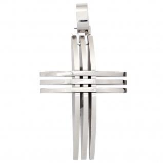 Anhänger Kreuz Edelstahl Kreuzanhänger Edelstahlkreuz