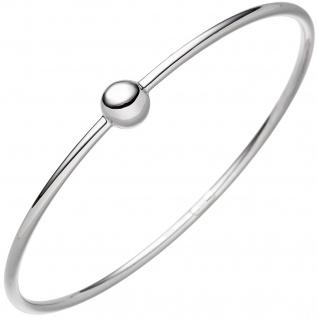 Armreif Armband mit Kugel 925 Sterling Silber Silberarmband