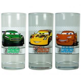 CARS Kinder Gläser-Set, 3 verschiedene Gläser 290ml im Geschenkkarton - Vorschau 2