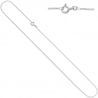 Schmuck-Set Knoten 585 Gold Weißgold 3 Diamanten Ohrringe und Kette 42 cm - Vorschau 5