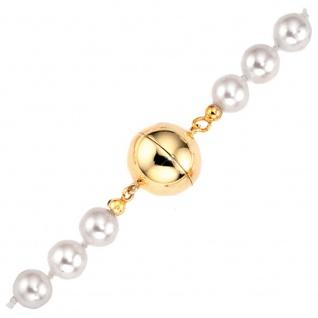 Kettenschließe Magnet-Schließe 585 Gold Gelbgold Kettenverschluss