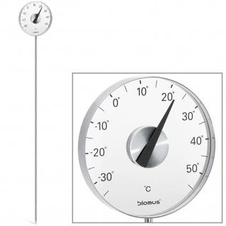 Blomus Gartenthermometer GRADO, Edelstahl matt, mit Erdspieß
