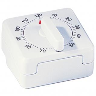 Atlanta 283 Kurzzeitmesser mechanisch weiß Kurzzeitmesser Küchen Timer