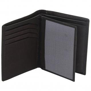Friedrich Lederwaren Geldbörse Leder schwarz RFID Schutz - Vorschau 3
