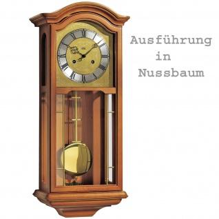 AMS 2651/1 Regulateur Regulator mit Pendel mechanisch Holz Nussbaum - Vorschau 3