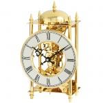 AMS 1183 Tischuhr Stiluhr Messing mechanisch 14-Tage Schlagwerk auf Glocke