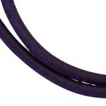Lederschnur lila dunkel ca. 1 m lang Halskette Kette Leder