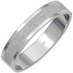 Armreif Armband oval breit 925 Sterling Silber mattiert Silberarmreif Kastenschl