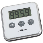Atlanta 239/0 Kurzzeitmesser Atlanta digital weiß mit Magnet Küchen Timer