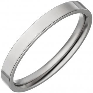 Partner Ring schmal aus Titan Partnerring Titanring