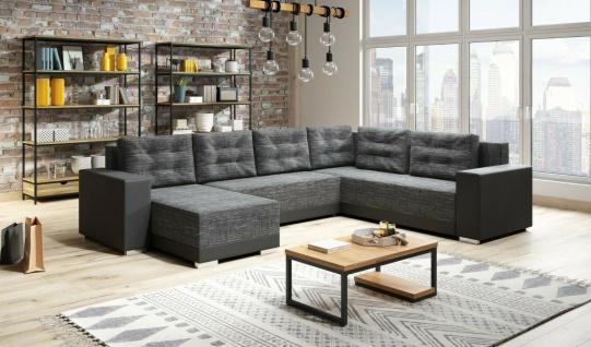 Couchgarnitur AMARO Sofa Sofagarnitur Schlaffunktion Polsterecke Couch NEU!