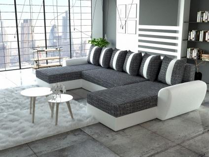 Sofa Couch Garnitur Ecksofa Sofagarnitur PUMA Schlaffunktion Wohnlandschaft NEU