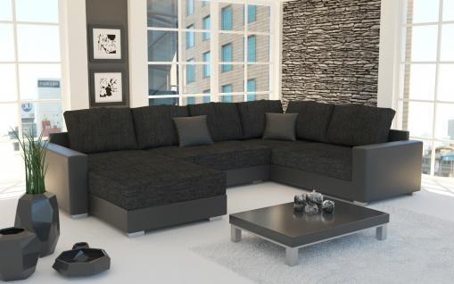 STY 3 Couch Couchgarnitur Sofagarnitur Sofa Wohnlandschaft Schlaffunktion